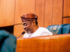 Femi Gbajabiamila: National Assembly na the head of the legislature inside Nigeria