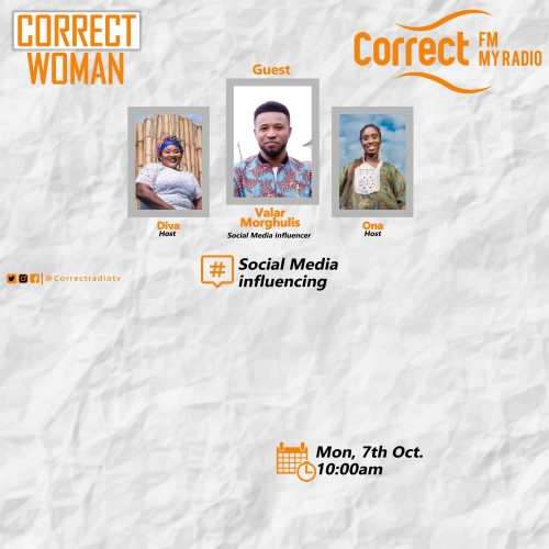 Correct Woman | Social Media Influencer